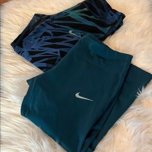 Nike cropped epic lux tights